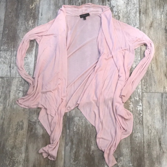 Lane Bryant Jackets & Blazers - LANE BRYANT DUSTY PINK SIZE 18/20 CARDIGAN